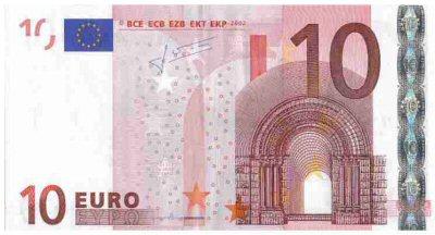 Euro Ten Dollars