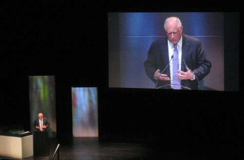 Governor Pat Quinn at the Chicago Innovation Awards