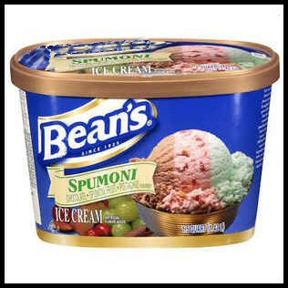 Bean's Spumoni Ice Cream