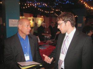 Loren Minkus with Jay Kinzie