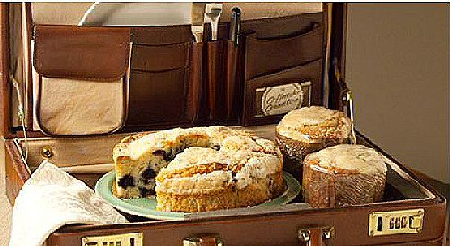 Coffeecake in a briefcase courtesy CoffeecakeConnection